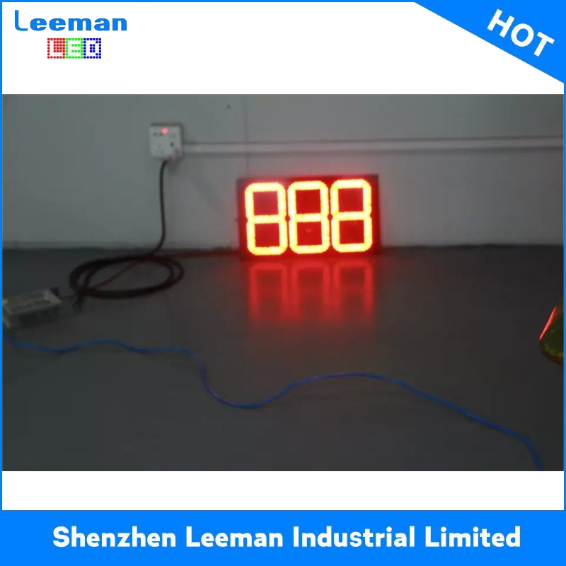 economic led countdown timer display digital electronic scoreboard 3D LED PHARMACY CROSS