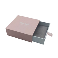 Drawer paper luxury custom jewelry gift box packaging