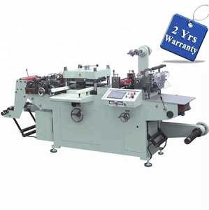 UTM420B Automatic Sticker Die Cutting Machine hot foil stamping hole punching unit