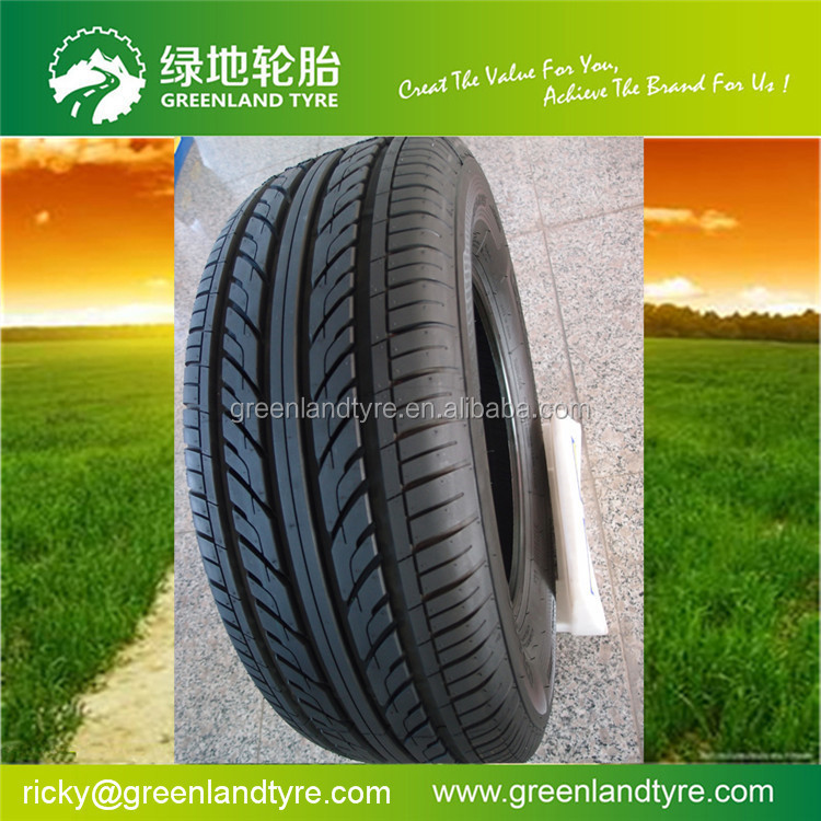 Alibaba China tyre famous radial car tire PCR manufacturer supplier brand  HATOX with white wall tire