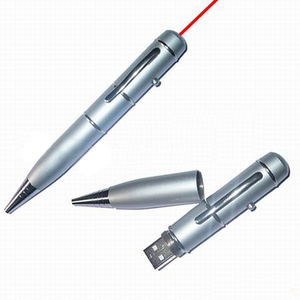 3 in 1 pen USB flash drive laser point, pen, USB flash drive