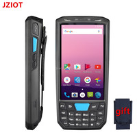 JZIOT V80 Android bar code reader qr code thermal printer 58mm with rfid smart card reader handheld device Bluetooth WiFi