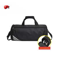 Wholesale Promotional Cheaper Price Barrel Shape Crossfit Duffle Bag Sports Gym Travel Luggage Shoe Bag