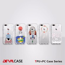 DEVILCASE Dual-Materia TPU+PC Cell Phone Case For Apple