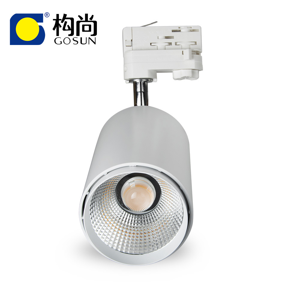 30w CCT dimmable 2700K-5700K LED track <strong>spotlight</strong> for living room