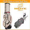 Helix hard case golf travel bag, travel trolley luggage bag,golf travel bag