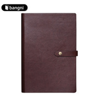 Cheap Factory Business Schedule Leather Notebook Made In China
