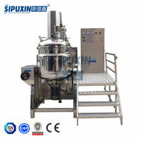 Sipuxin 300L Vacuum Homogenizing emulsifier for making hair conditioner