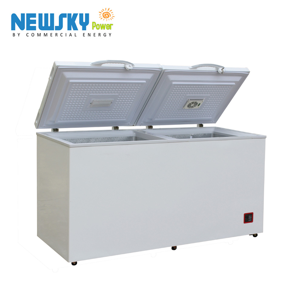 335L DC Absorption Diffusion Large Capacity Deep solar Chest Freeze