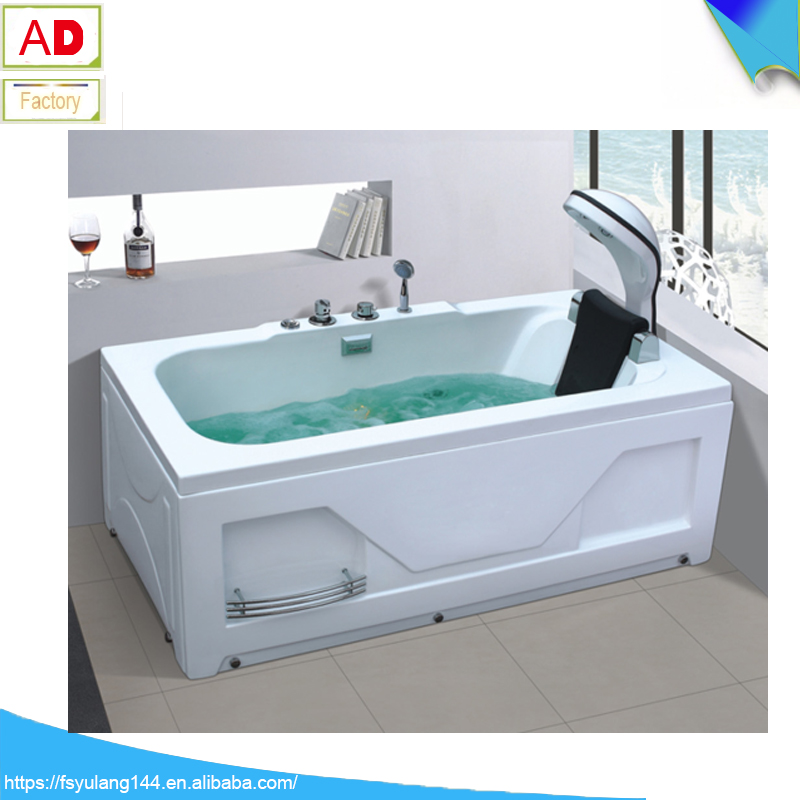 Ad-1729 Head Massage Waterfall Bathtub Shllaow Indoor Above Ground ...