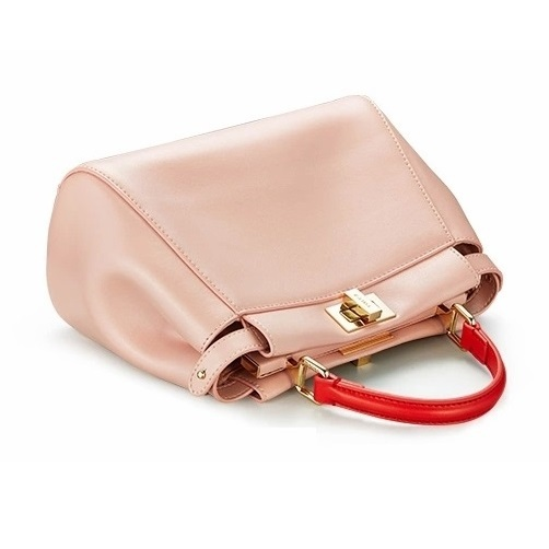 Small Bags For Women Contrast Color Genuine Leather Fashionable Women Bag Pink Cute Holiday Gift For Ladies New Handbags Cowskin