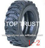 Bias industrial pneumatic tires 15-19.5 14-17.5 12-16.5 10-16.5 L2 for loaders/bobcats