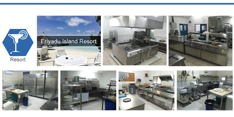 Furnotel Restaurant Equipment Kitchen Catering Commercial / Hotel Buffet Kitchen Tools Utensils and Equipment