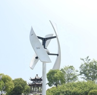 CE Maglev Coreless Micro Spiral 400w White Wind Turbine Generator with MPPT controller