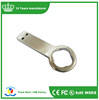 Trending hot products metal usb flash drive bottle opener flash disk laser printing logo