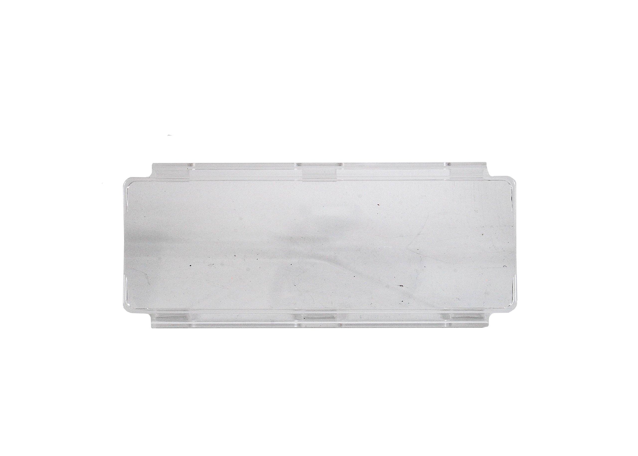 "6/"" AMBER FLOOD OZ-USA® BAR COVER LED light dual row 18/"" 30/"" 40/"" 50/"" cree fog 4x4"
