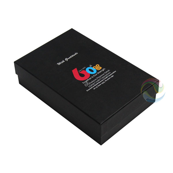 Cheap Best Product Packaging Cardboard Matte Black Gift Box