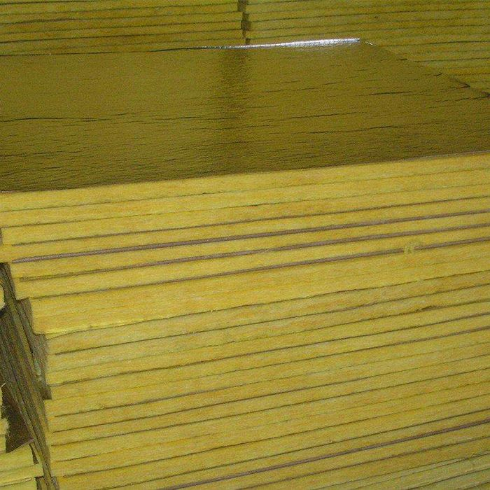 Fireproof water resistant insulation glass wool roll