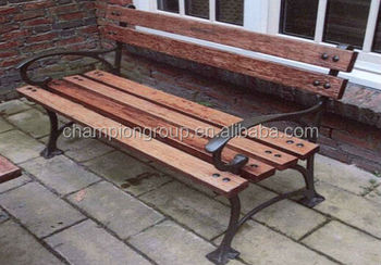 Wood And Metal Outdoor Furniture Park Benches Buy Modern Outdoor