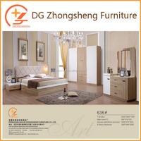 Elegance nature wood melamine bedroom furniture bedroom set