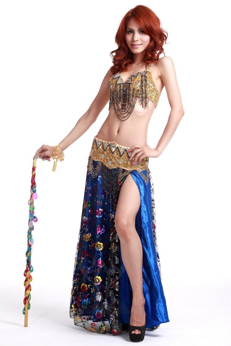 Panties come down and belly dancer