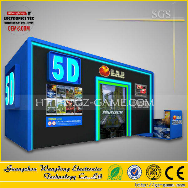 Low price 7d cinema in China, Electric power 6 seats 5d cinema systems with ISO certificate