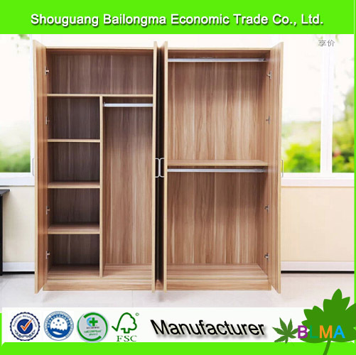 Marvelous New Style Design Wood Closet In Melamine Particle Board Or MDF Board