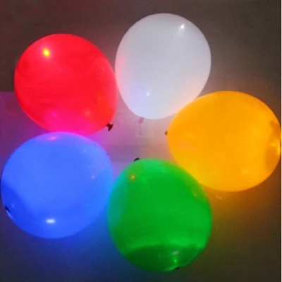Fashion LED light balloon luminous wedding birthday party baloon latex balloons flash party balloon