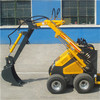 Good quality hot sale mini skid steer loader snow blower