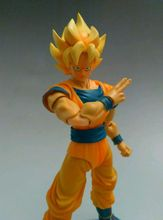 In Stock Dragon Ball Z DATONG model SHF Super Saiyan 1 yellow hair Goku Kakarotto Childhood