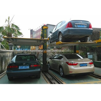 Electric Platform Stacker 2 Level Parking Lift Simple Tilting Two Post  Residential Car Lift - Buy 2 Post Parking Lift Product on Alibaba com