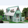 EXCELLENT QUALITY KID'S CUBBY HOUSE ,KID'S PLAYHOUSE Wooden Playhouse American Country Style (HB-14101)
