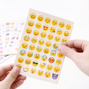 VS001120 Made in china smiley face emoji sticker