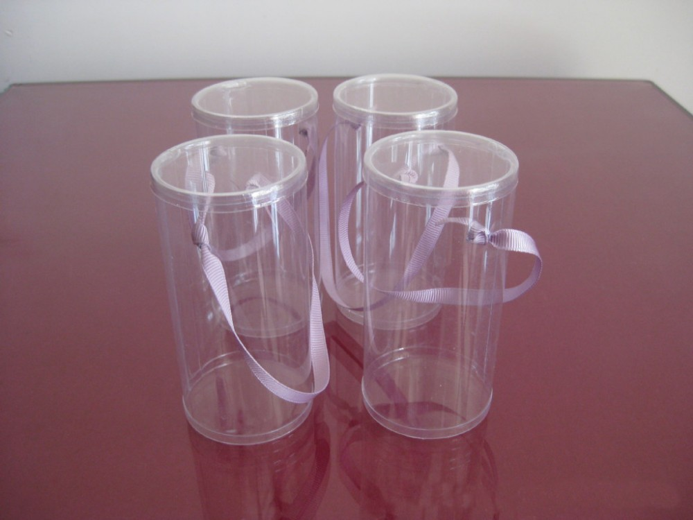 Gh10 Hot Sale Factory Price Plastic Clear Round Tube Box