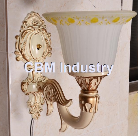 Professional crystal no wiring power outlet hotel wall lamp