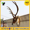 simulation animal factory hot sale life size christmas moose head
