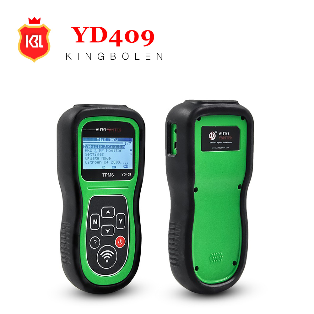 YD409 TPMS Sensor Trigger Tool for Activate and Decode TPMS Sensor YD409 TPMS Trigger Tool One Year Free Update Online