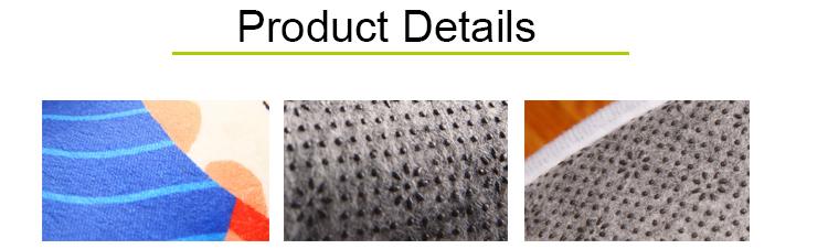Nach Maß Logo Flanell Gedruckt 3D Tür Matte Innen Anti-Slip Waschbar Teppich