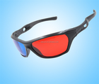 Cyan Anaglyph Movie 3D Glasses