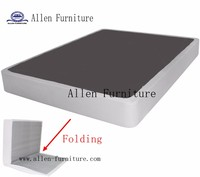 BiFold Box Spring Folding Mattress Foundation, Strong Steel structure, No assembly required, Queen