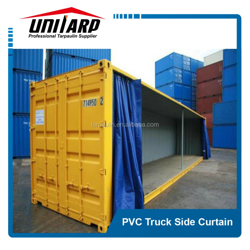 Customized full set trailer/container/truck tarpaulin side curtain fabric