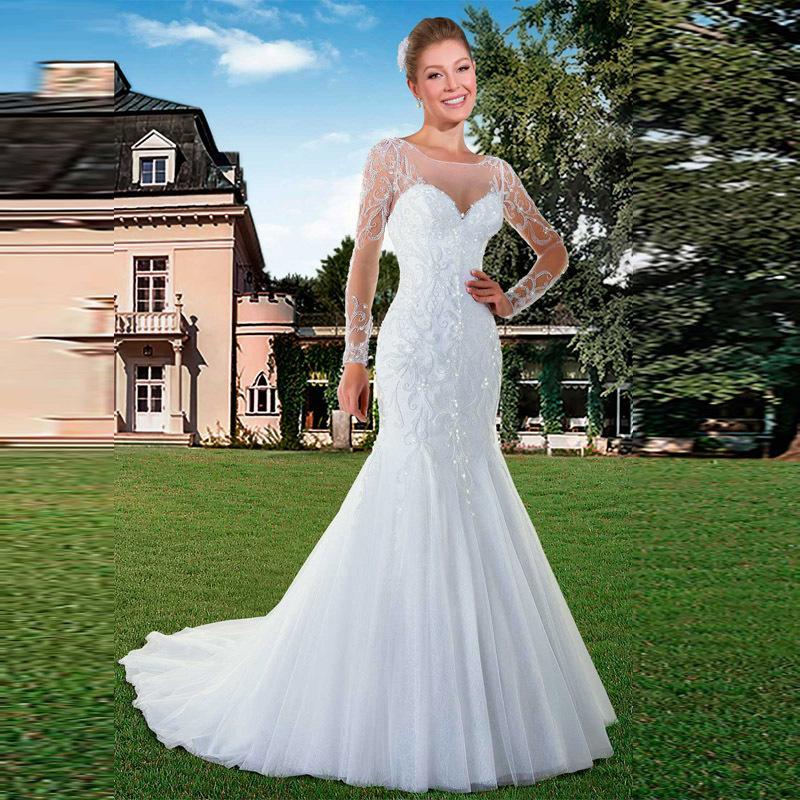 Aliexpress.com : Buy Romantic Backless Wedding Dresses