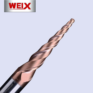 Cw taper ball endmill tool solid carbide tapered end mills cnc milling taper ball mill