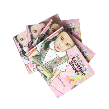 Beautiful Girl Cover Hardboard Book For Learning With Best Quality Perfect Printing Service OEM Wholesale