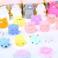 Customized Kawaii Cute Capsules Toys Stretchy Squeeze Soft TPR Dumpling Kid Toys