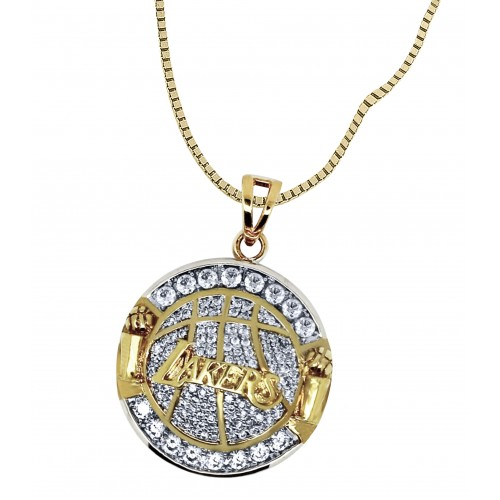 Los Angeles Lakers Fans Pendant With Chain