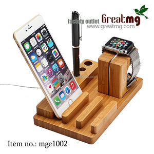 natural bamboo mobile phone holder bamboo desktop cell phone holder and mobile stand holder