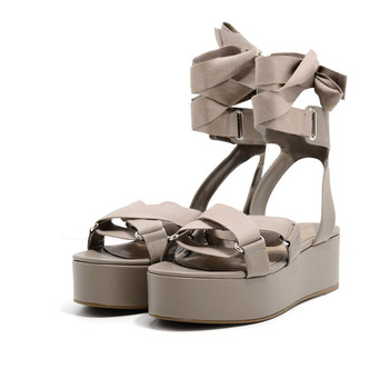 Boutique en ligne 5e7af a91f6 2018 Nuevo Modelo De Encaje Hasta Las Mujeres Vestido De Plataforma  Sandalias - Buy Zapato De Vestido,Nuevo Modelo Mujeres Sandalias,Plataforma  ...