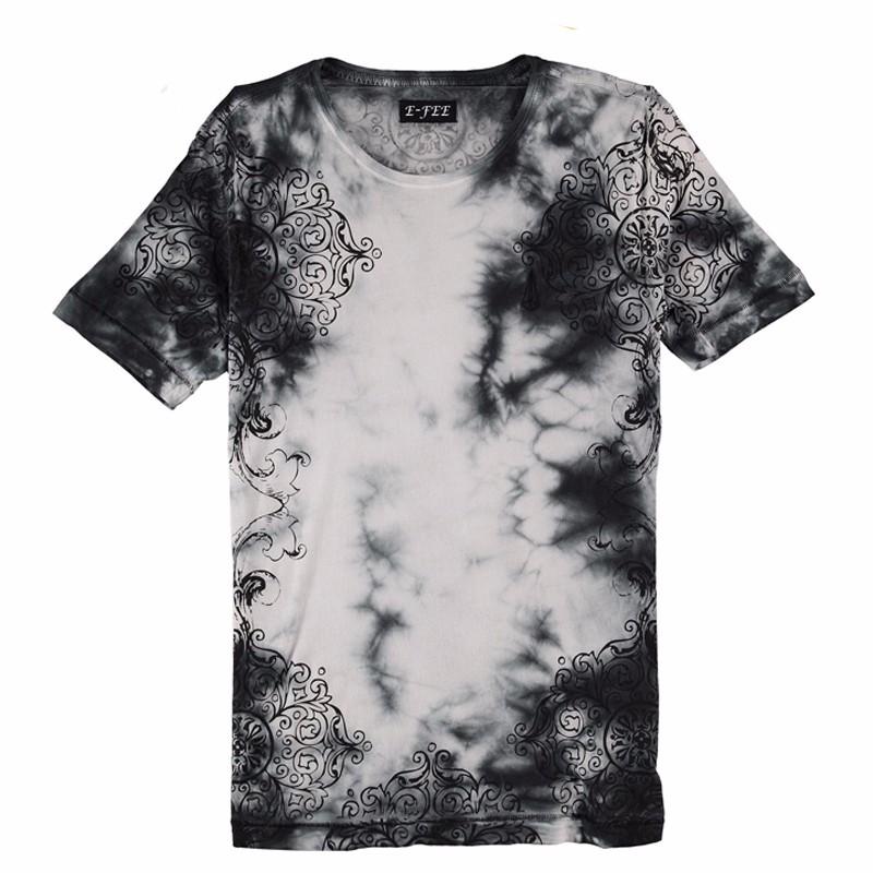 e3d0981875a Custom Vintage Men Tie Dye 100% Cotton Crew Neck T Shirt - Buy Tie ...