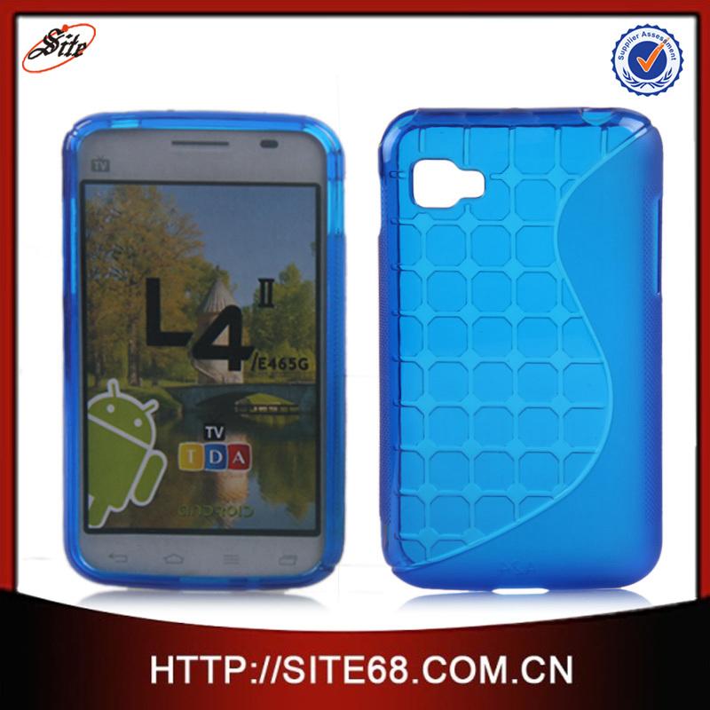 88713eeb5c1 Guangzhou TPU Silicon Acrigel Celular De Accesorios Caso Cajas Estuches  Forro Fundas Protectores para LG L4ii